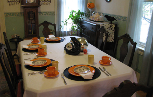 Happy Halloween Tea Party at The Cottage, 2015